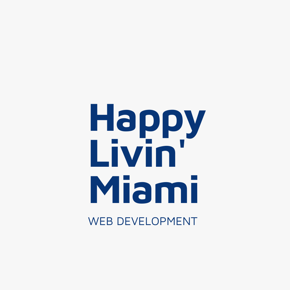 Happy Livin' - Web Design & Development - KLASHTECH LLC