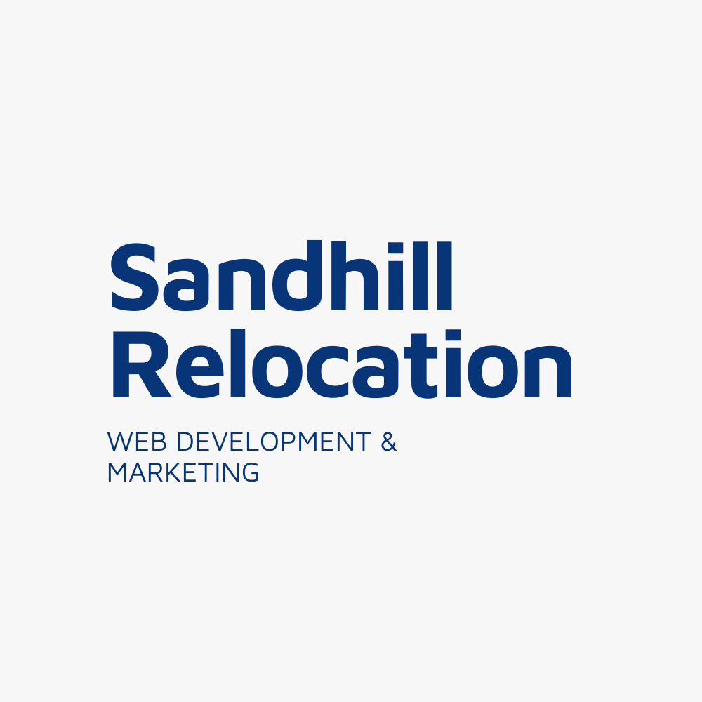 Sandhill Relocation - Web Design & Development - KLASHTECH LLC